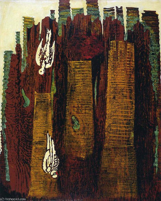 untitled (2316) by Max Ernst (1891-1976, Germany)