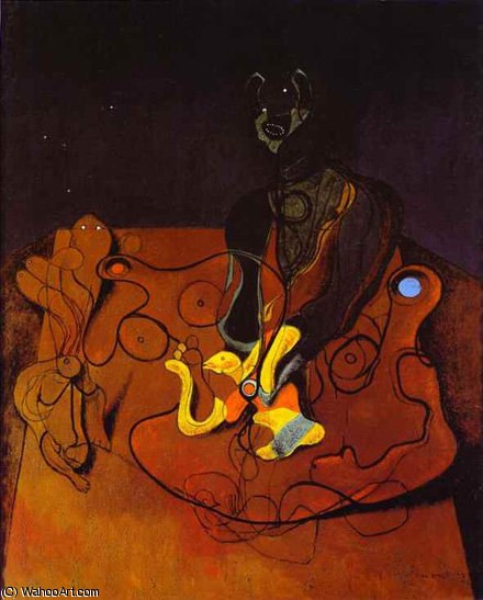 untitled (36) by Max Ernst (1891-1976, Germany)