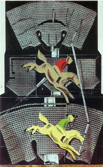untitled (9211) by Max Ernst (1891-1976, Germany)