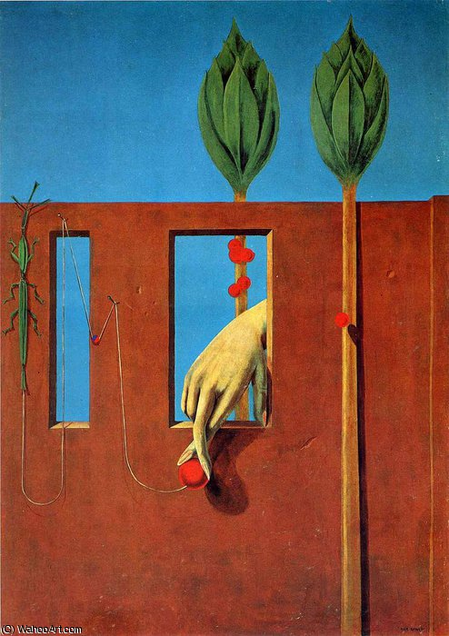 untitled (594) by Max Ernst (1891-1976, Germany)