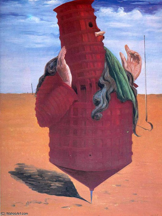 untitled (3876) by Max Ernst (1891-1976, Germany) | Famous Paintings Reproductions | WahooArt.com