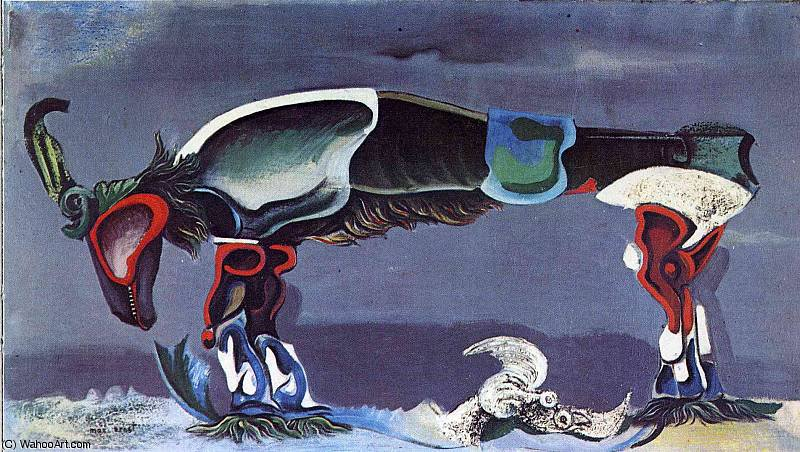untitled (3741) by Max Ernst (1891-1976, Germany)