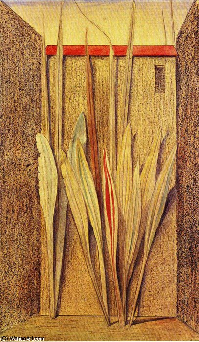untitled (4349) by Max Ernst (1891-1976, Germany) | Famous Paintings Reproductions | WahooArt.com