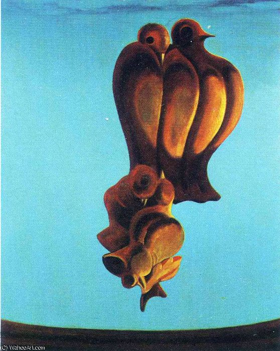 untitled (6819) by Max Ernst (1891-1976, Germany)