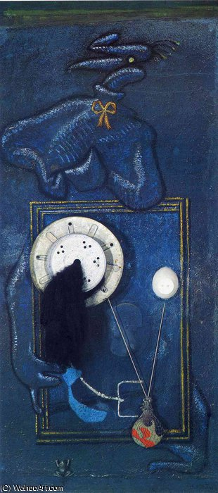 untitled (5029) by Max Ernst (1891-1976, Germany)
