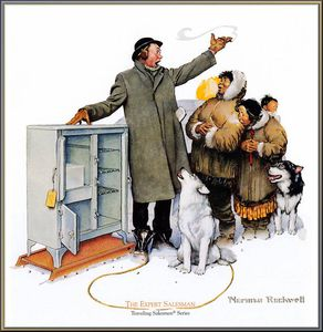 Norman Rockwell - untitled (8295)