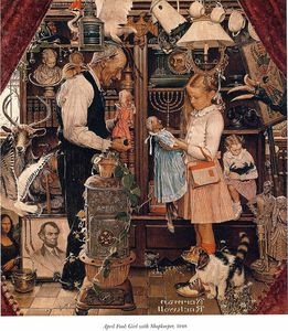 Norman Rockwell - untitled (3114)