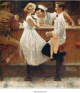Norman Rockwell - untitled (7905)