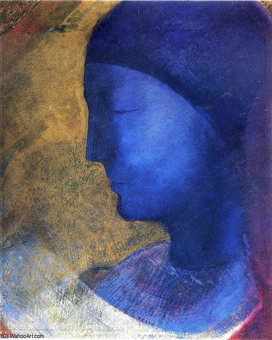 untitled (5561) by Odilon Redon (1840-1916, France) | Museum Art Reproductions Odilon Redon | WahooArt.com
