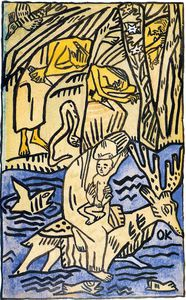 Oskar Kokoschka - untitled (7131)