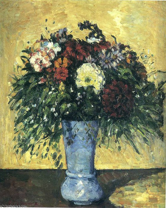 untitled (7610) by Paul Cezanne (1839-1906, France) | Museum Quality Reproductions | WahooArt.com