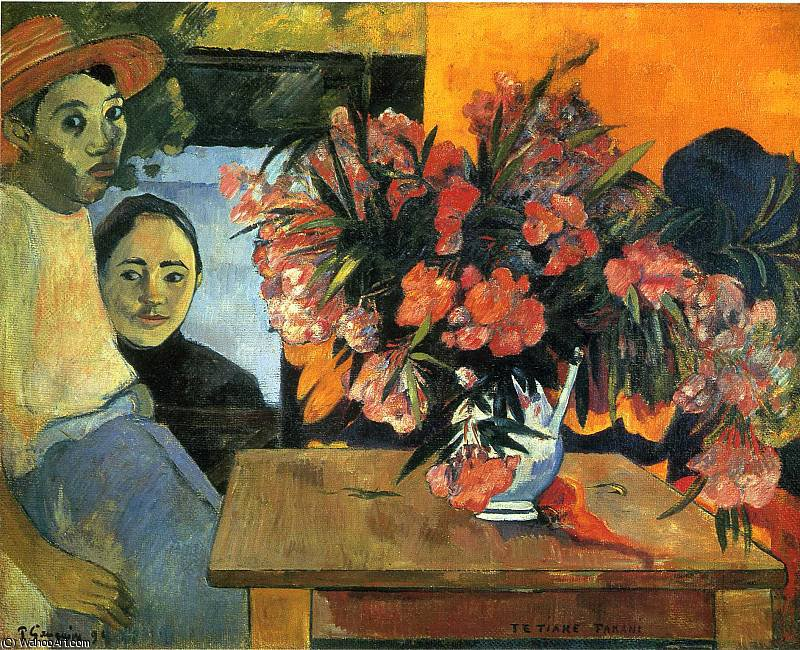 untitled (6547) by Paul Gauguin (1848-1903, France) | Painting Copy | WahooArt.com