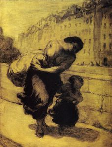Honoré Daumier - Le fardeau The burden