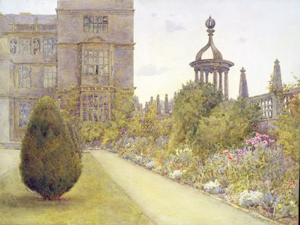 The East Court by Ernest Arthur Rowe (1863-1922, United Kingdom)