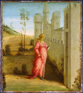 Fra Filippo Lippi - Esther at the Palace Gate