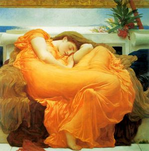 Lord Frederic Leighton - flaming june