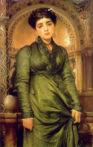 Lord Frederic Leighton - Girl in Green
