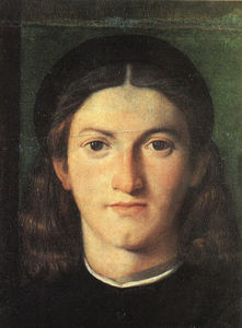 Lorenzo Lotto - Head of a Young Man