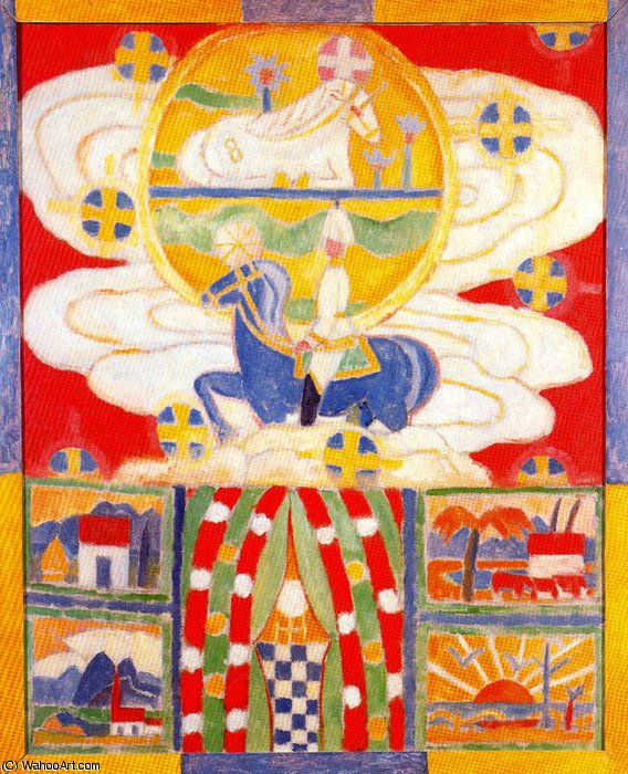 0 by Marsden Hartley (1877-1943, United States) | Reproductions Marsden Hartley | WahooArt.com