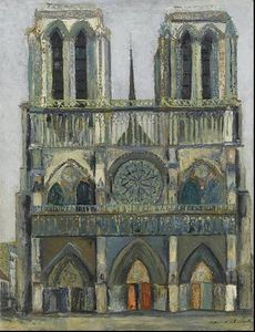 Maurice Utrillo - notre dame