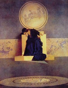 Maxfield Parrish - Young King of the Black Isles