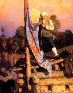 Nc Wyeth - Captain Smollet Defies the Mutineers