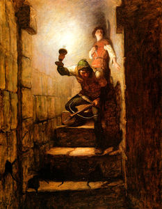 Nc Wyeth - We Must Be in The Dungeons, Dick Remarked