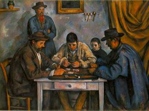 Paul Cezanne - the card players - (Buy fine Art Reproductions)