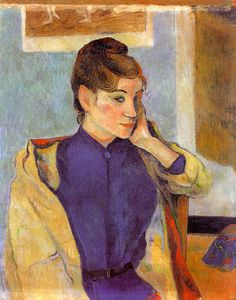 Paul Gauguin - Portrait of Madeline Bernard (the sister of the artist)