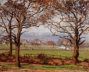 Camille Pissarro - Near Sydenham Hill, Looking towards Lower Norwood.