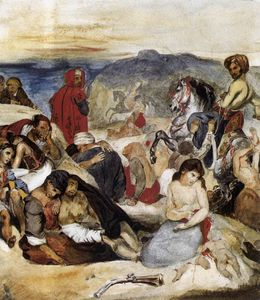 Eugène Delacroix - Eugene The Massacre of Chios