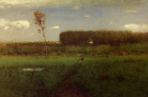 George Inness - october noon