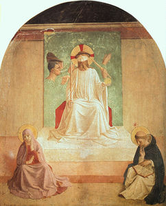 Fra Angelico - The Mocking of Christ (with Benozzo Gozzoli)