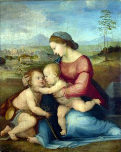 Fra Bartolomeo - The Madonna and Child with Saint John