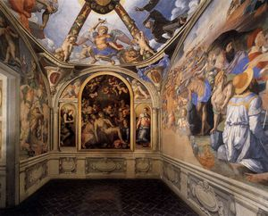 Agnolo Bronzino - View of the Chapel of Eleonora da Toledo