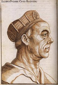Hans Burgkmair - Portrait of Jacob Fugger