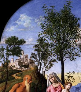 Giovanni Battista Cima Da Conegliano - Madonna of the Orange Tree (detail)