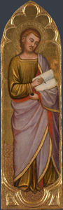 Jacopo Di Cione - Saint luke