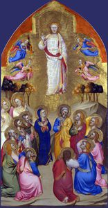 Jacopo Di Cione - The ascension