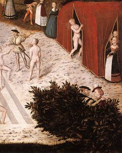 Lucas Cranach The Elder - Fountain of Youth (detail)3