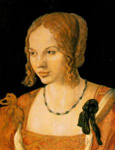 Albert Dürer Lucas - Portrait of a Venetian Woman