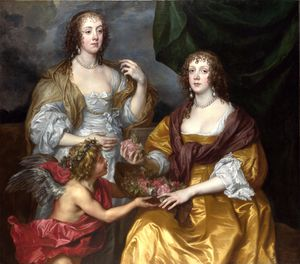 Anthony Van Dyck - Lady Elizabeth Thimbelby and her Sister