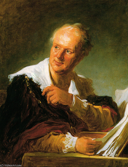 Order Reproductions | Portrait of a Man by Jean-Honoré Fragonard (1732-1806, France) | WahooArt.com