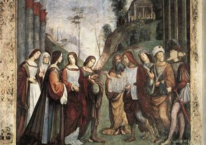 Francesco Francia (Francesco Raibolini) - The Marriage of St Cecily