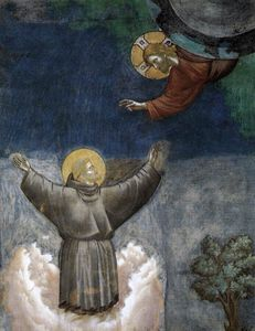 Giotto Di Bondone - Ecstasy of St Francis (detail)