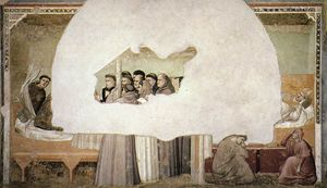 Giotto Di Bondone - Vision of the Ascension of St Francis