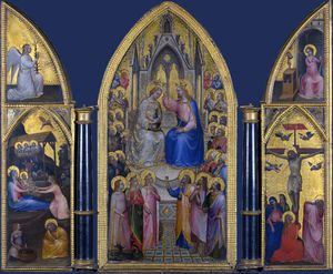 Giusto De' Menabuoi - The Coronation of the Virgin, and Other Scenes