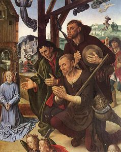 Hugo Van Der Goes - Portinari - The Adoration of the Shepherds (detail)8