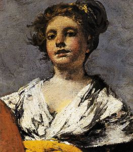 Francisco De Goya - Water carrier (detail)