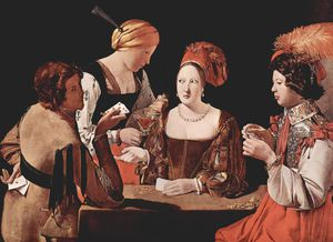Georges De La Tour - Cheater with the Ace of Diamond